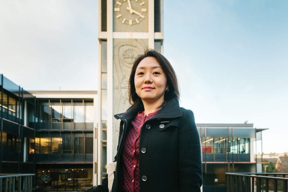 Associate Professor of Counselor Education June Hyun at SPU