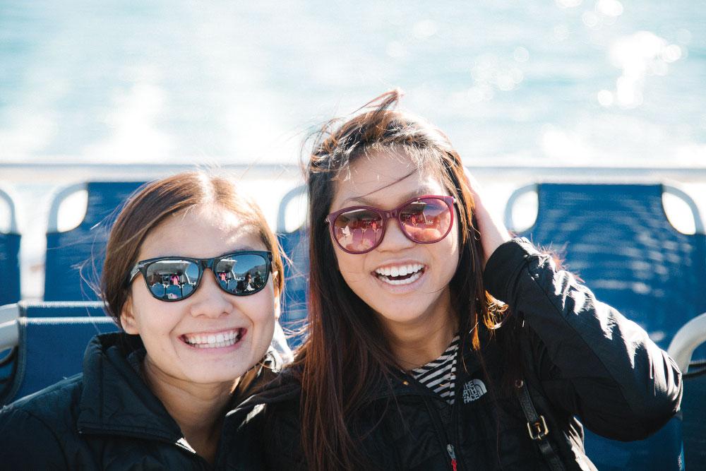 Brittany Geis and Angela Tse