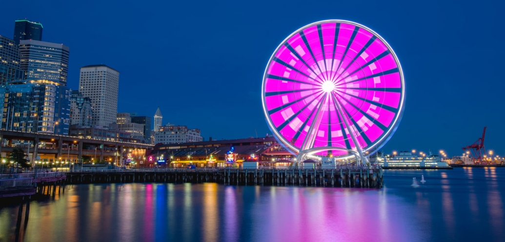 how to photograph seattle�s great wheel qampa with spu