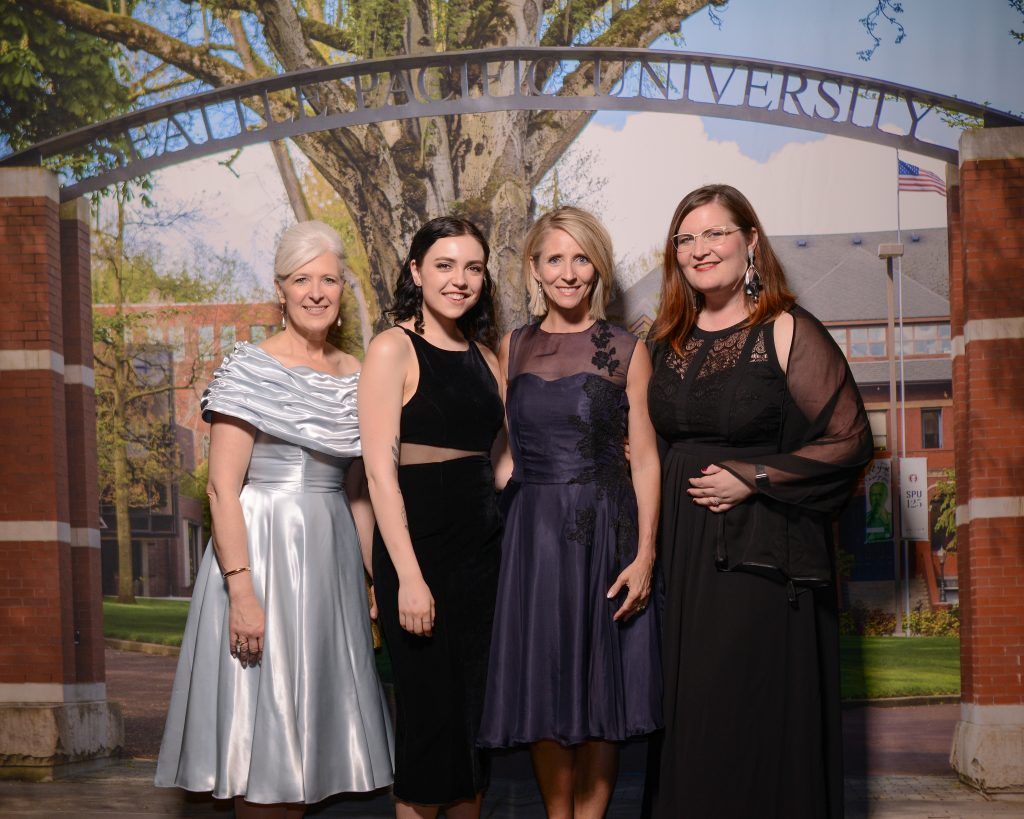 Left to right: Louise Furrow, Sarah Maberry, Pam Martin, and Sarah Mosher