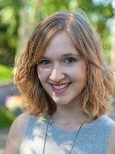 Student leader, Danielle Meier