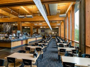 Gwinn Commons dining hall