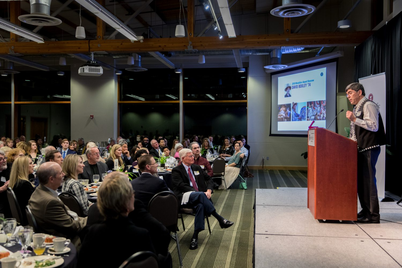 David Boxley, Tsimshian artist: SPU's 2018 Medallion Award Winner