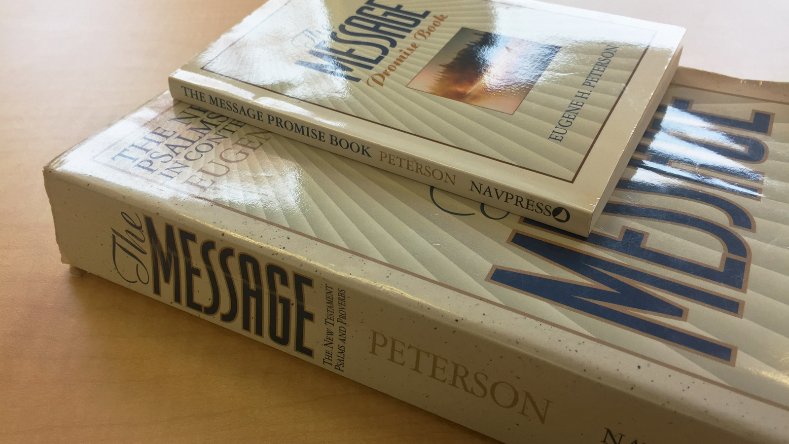 Eugene Peterson, author of The Message, says he was