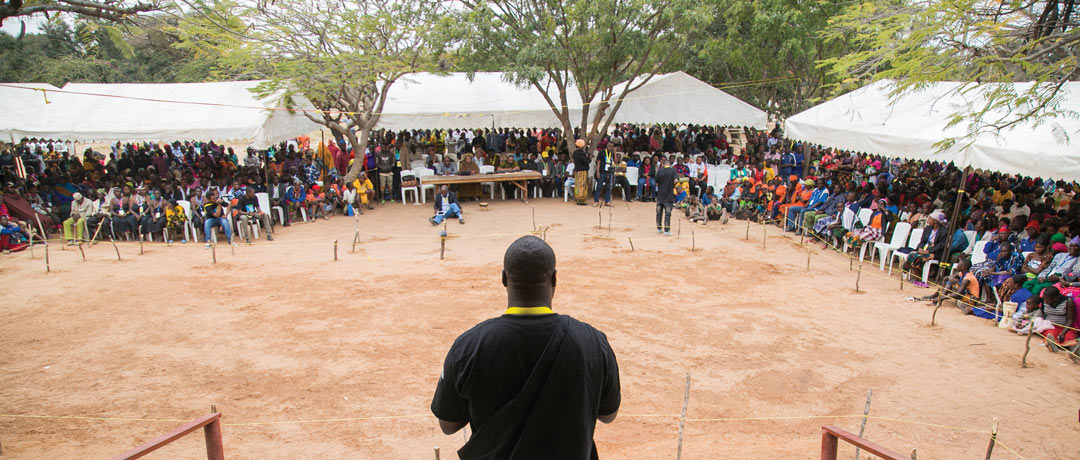 Mapana welcomes artists and audience members to the festival's second day.