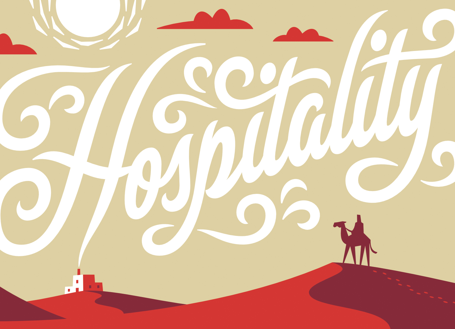 Reciprocity of Hospitality | Graphic by Jonathan Ball