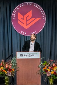 a.j. swoboda speaks at The Day of Common Learning