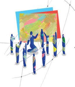 Abstract illustration by Jon Han