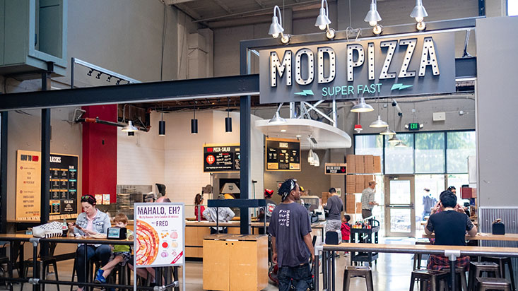 Mod Pizza at Seattle Center