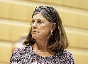 Former SPU Gymnastics coach Laurel TIndall