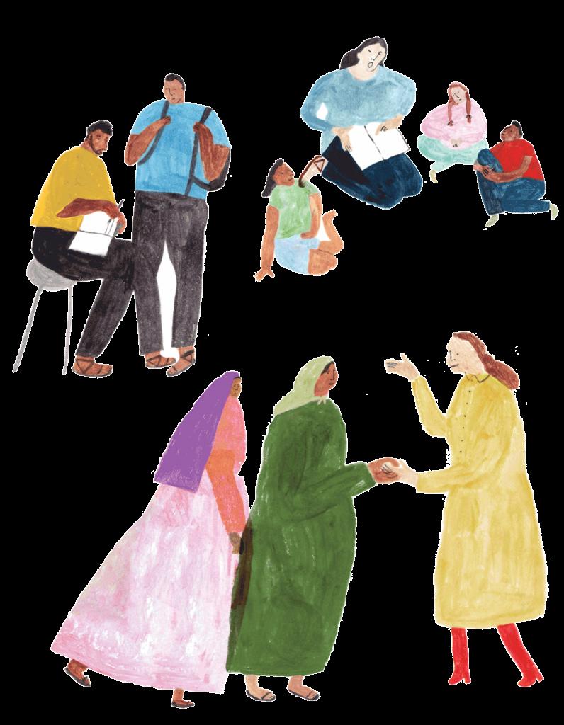 global justice illustration