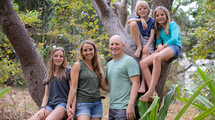 The Shattenberg family