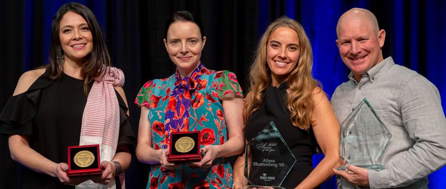 alumni award recipients