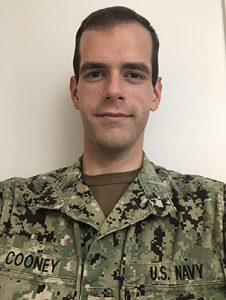 Donald Cooney in uniform