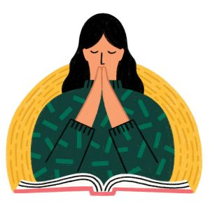 praying illustration