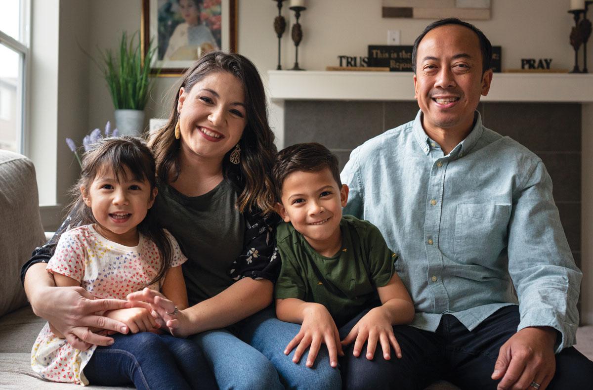 Pon family portrait