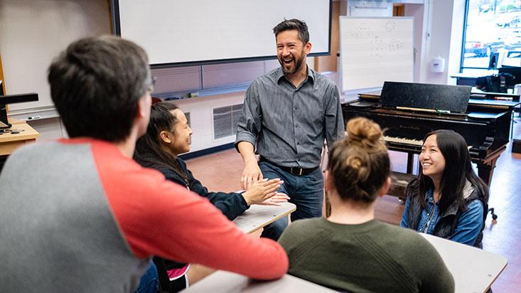 Dr. Brian Chin teaching class | photo by Chris Yang
