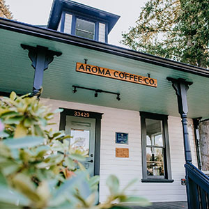 Aroma Coffee Co. storefront