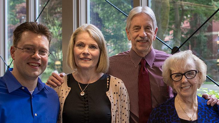John Glancy and family