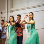 SPU students perform hula dance at Hawaii club lu'au