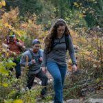 hiking up Granite Mountain trail