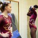 Darian Burns preps for competition
